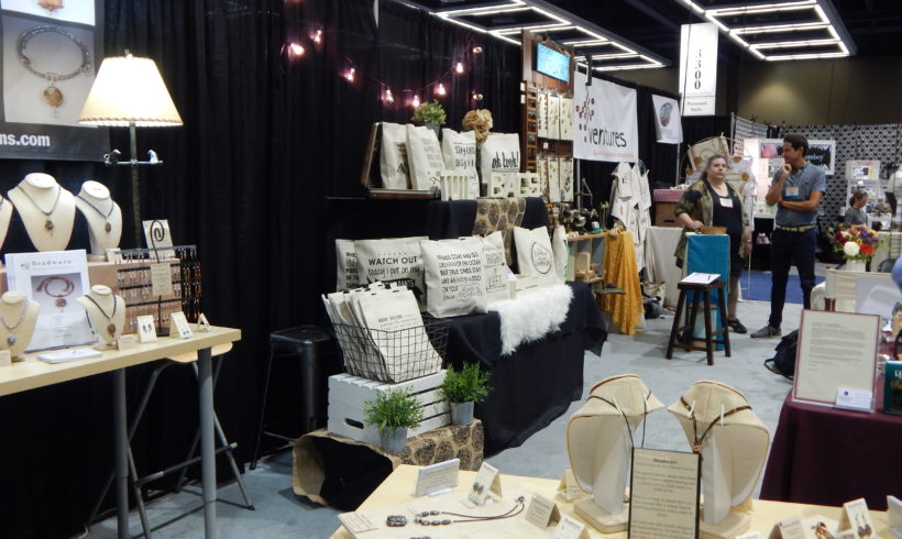 Ventures Vendors Grow their Businesses at the Seattle Gift Show